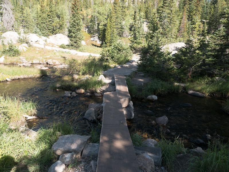 Log Foot Bridge