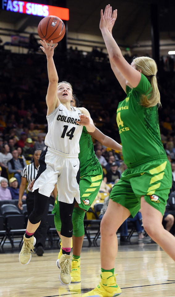 Colorado Oregon NCAA Women's Basketball