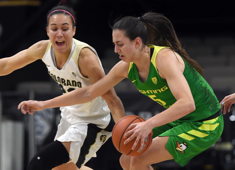 Colorado Oregon NCAA Women's Basketball