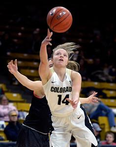 Colorado 85 Idaho State 56 NCAA Women