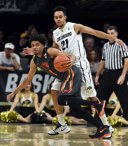 Colorado Oregon State NCAA Men's Basketball