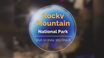 Rocky Mountain NP Insta 360 ONE R