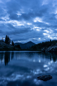 Pre-dawn long exposure at Lost Lake.  Chaffee County, CO.