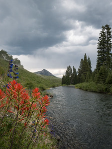 4th of July weekend, Slate River, Crested Butte, CO