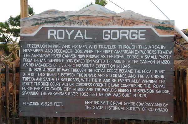Royal Gorge Area - Canon City, CO