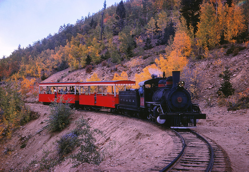 CCRR 21 - Sep 15 1968 - 2 8 0 westbound below Central City COLO