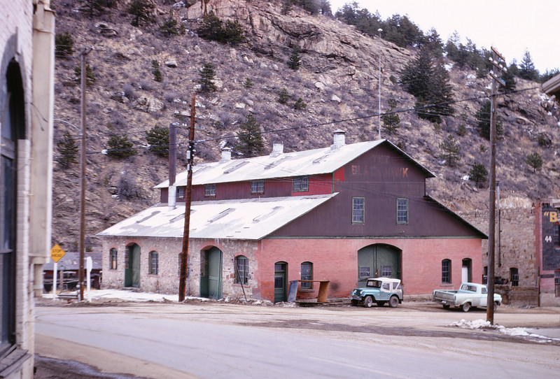 CCRR 1 - Feb 18 1968 - Shop Building Blackhawk COLO