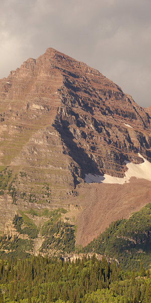 The north face of North Maroon Peak.