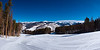 Vail Valley and the Gore Range on the skyline.<br /> February 28, 2011<br /> Vail, Colorado<br /> (2:1 aspect ratio)