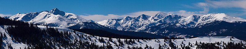 Mount of the Holy Cross (14005')<br /> Mount Jackson<br /> Holy Cross Wilderness<br /> Sawatch Range<br /> March 1, 2011<br /> Vail, Colorado<br /> (5:1 aspect ratio)