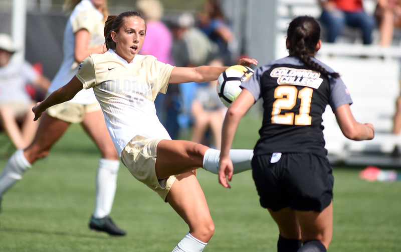 Colorado College vs Colorado Soccer