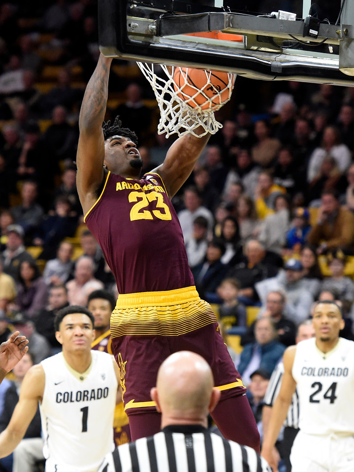 CU vs Arizona State Mens Hoops
