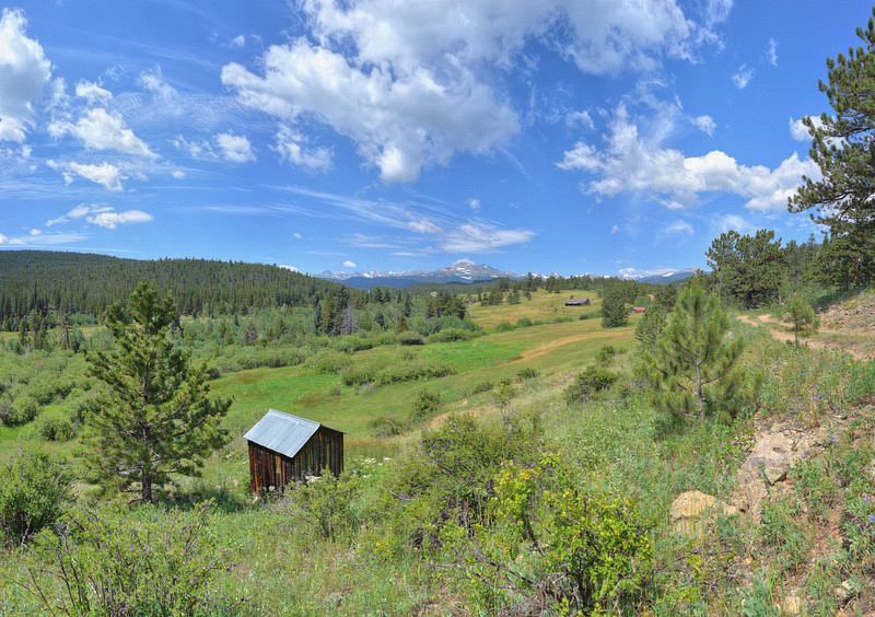 Peak to Peak Highway Ranch near Allenspark, CO