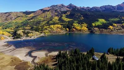Trout Lake and Fall foliage