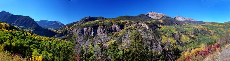 Mountains near Trout Lake_Panorama1