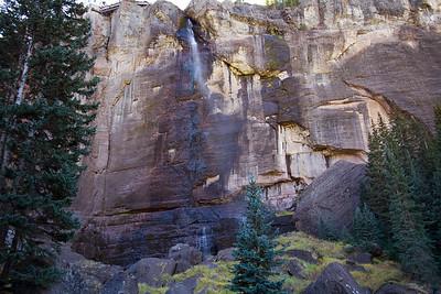 Bridal Veil Falls from base level