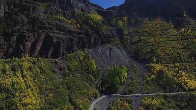 Fall colors  near Bridal Veil Falls