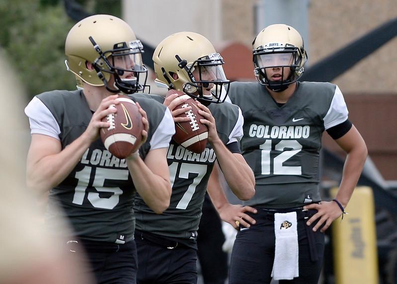 Colorado Football Aug 3