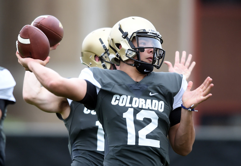 Colorado Football Aug 3