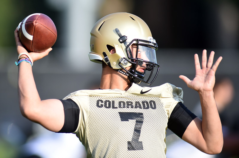 CU Football Practice Aug 4, 2016