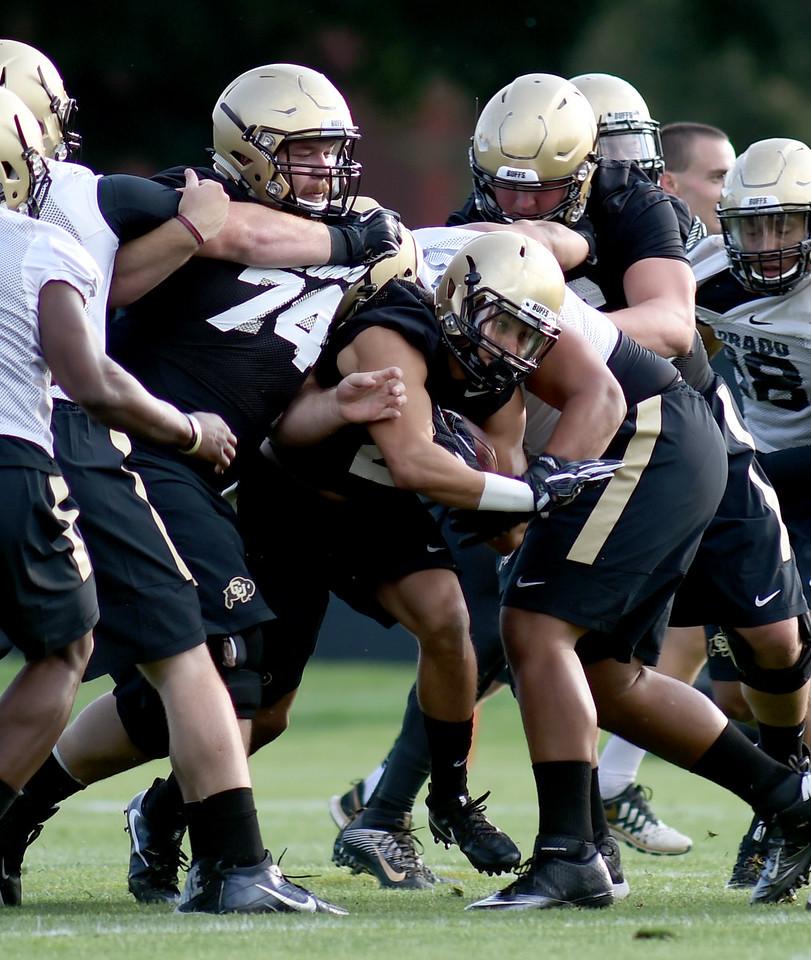 CU Football Practice Aug 4, 2016