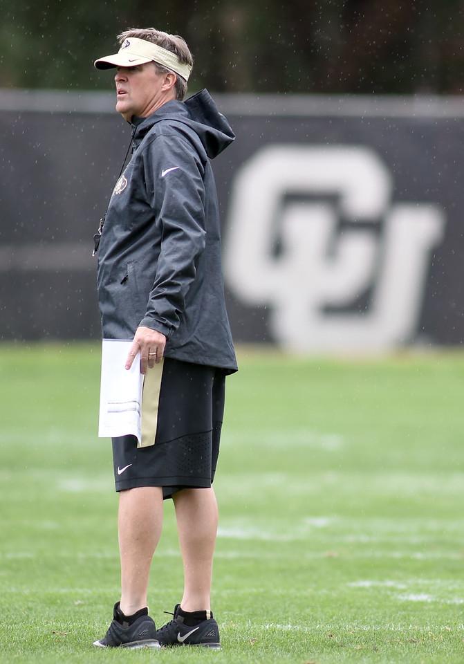 Colorado Buffaloes Football Practice