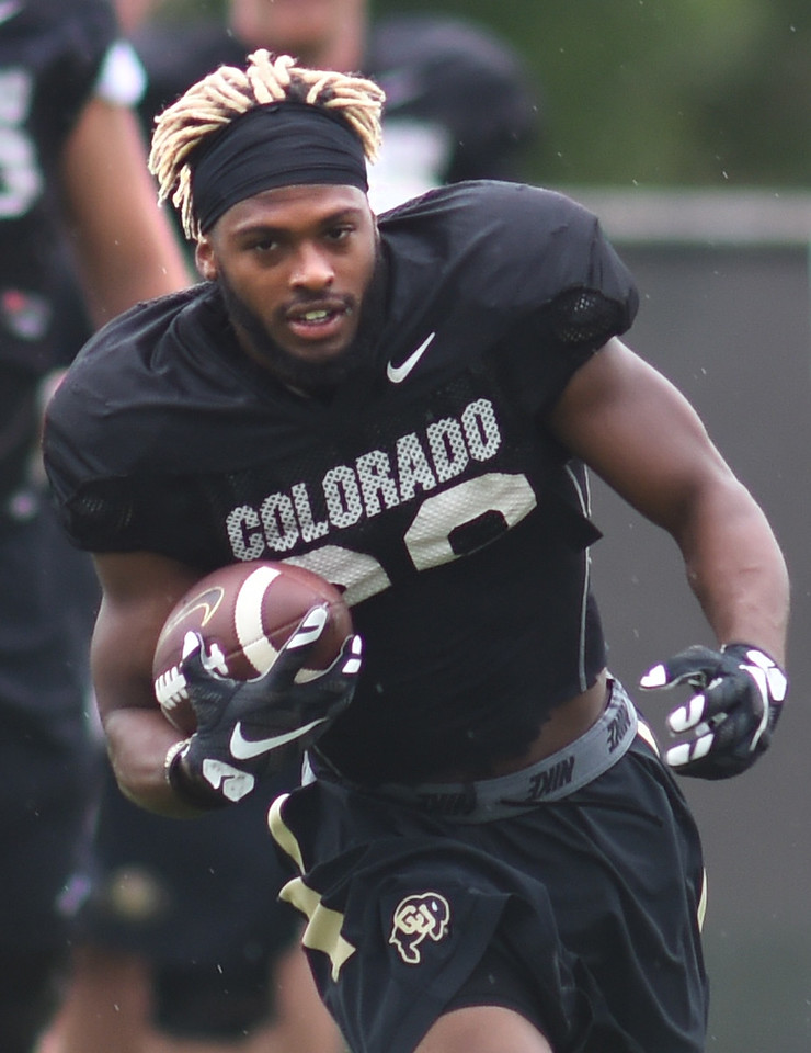 Colorado Buffaloes Football Practice