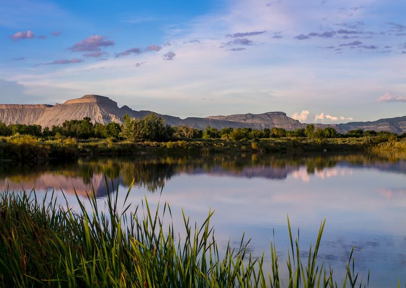 Mount Garfield Evening Reflections