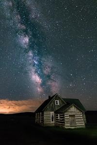 Homestead Under the Milky Way