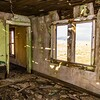 Interior abandoned homestead