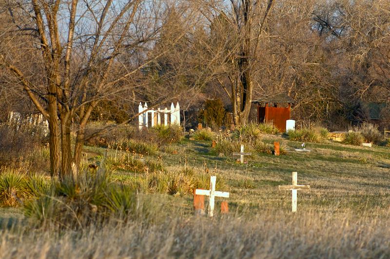 Bingham Hill Cemetery; Laporte, Colorado (c. 1862)
