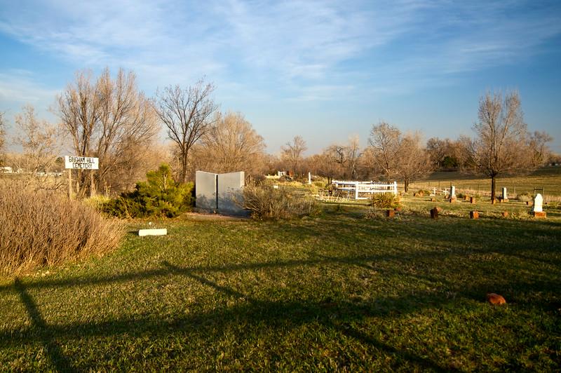 Bingham Hill Cemetery.  Laporte, Colorado