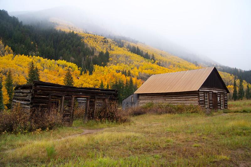 Autumn in Ashcroft, Colorado (est. 1880)