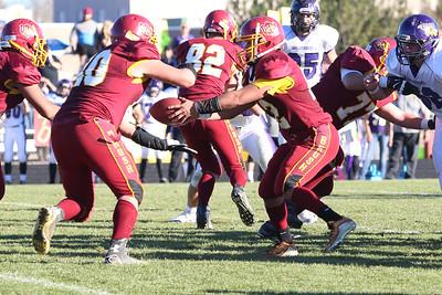 November 14, 2015; Brush, Colorado, United States; CHSAA 2A Football Playoffs at Brush High School, Photo Credit: Travis Prior