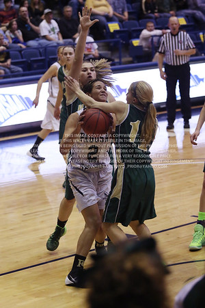 LRDE0990 Pagosa Springs High School Girl's Varsity Basketball vs Manitou Springs March 13, 2014