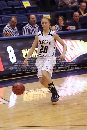 LRDE0946 Pagosa Springs High School Girl's Varsity Basketball vs Manitou Springs March 13, 2014