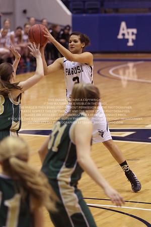 LRDE0896 Pagosa Springs High School Girl's Varsity Basketball vs Manitou Springs March 13, 2014