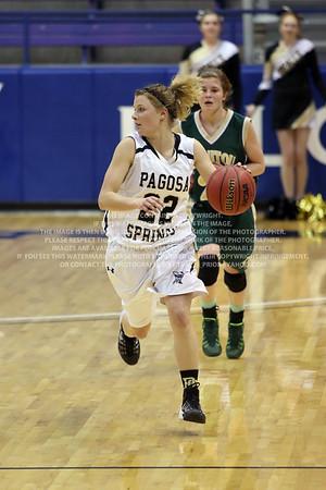 LRDE0934 Pagosa Springs High School Girl's Varsity Basketball vs Manitou Springs March 13, 2014