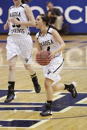 LRDE0970 Pagosa Springs High School Girl's Varsity Basketball vs Manitou Springs March 13, 2014
