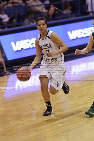 LRDE0915 Pagosa Springs High School Girl's Varsity Basketball vs Manitou Springs March 13, 2014