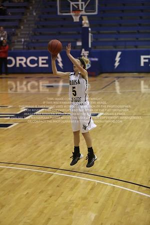 LRDE1008 Pagosa Springs High School Girl's Varsity Basketball vs Manitou Springs March 13, 2014