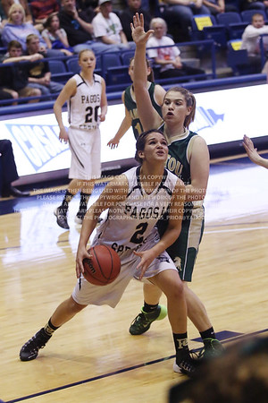 LRDE0989 Pagosa Springs High School Girl's Varsity Basketball vs Manitou Springs March 13, 2014