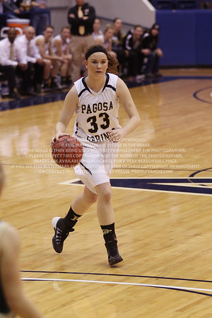 LRDE0949 Pagosa Springs High School Girl's Varsity Basketball vs Manitou Springs March 13, 2014