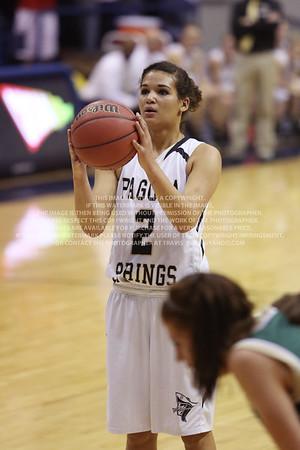 LRDE0992 Pagosa Springs High School Girl's Varsity Basketball vs Manitou Springs March 13, 2014