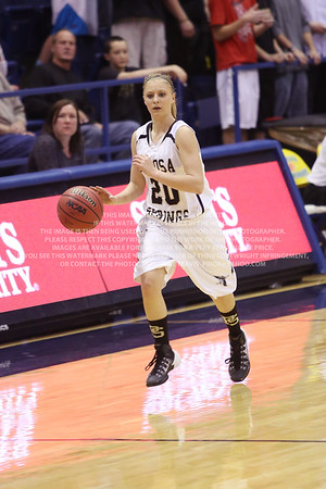 LRDE0943 Pagosa Springs High School Girl's Varsity Basketball vs Manitou Springs March 13, 2014