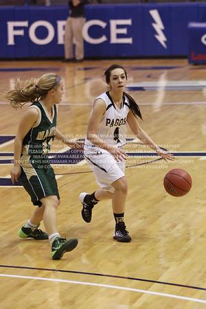 LRDE0923 Pagosa Springs High School Girl's Varsity Basketball vs Manitou Springs March 13, 2014