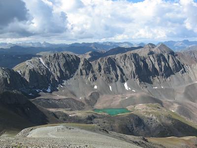 Handies Peak, Colorado (14,048') - 8/29/07