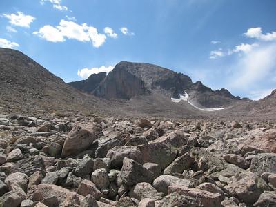 Longs Peak (14255'), Colorado - 08//26/07