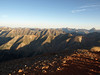 You can see Wetterhorn and Uncompahgre Peaks in the distance on the right side of the photo.