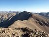 Looking back along the ridge from Sunshine Peak